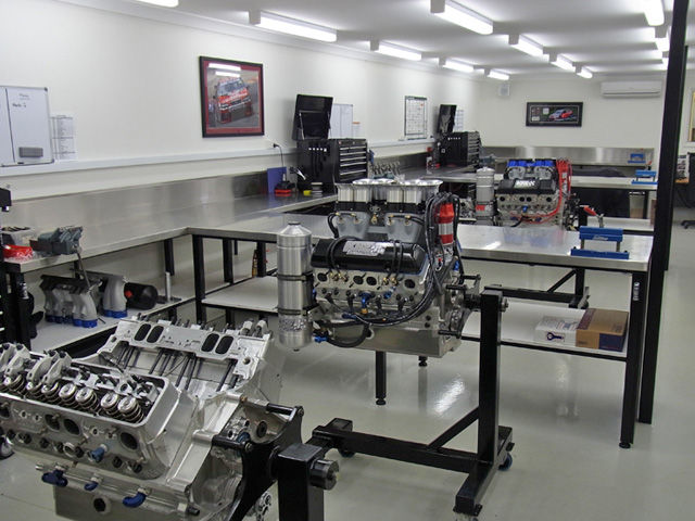 Workshop Tour KRE Race Engines